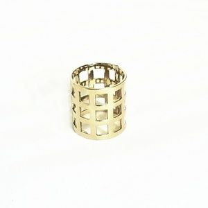 Caged Gold Ring
